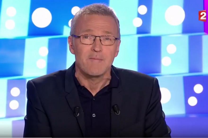 Laurent Ruquier dans On n'est pas couché, le 7 octobre