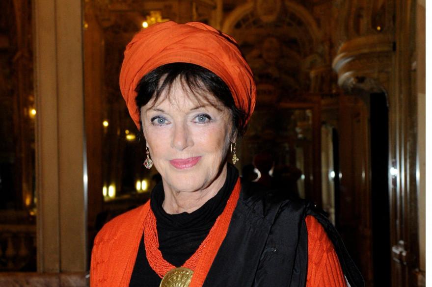 Anny Duperey, en octobre 2014 à Paris