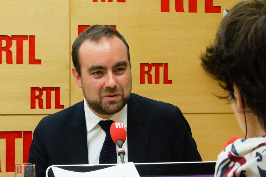 Sébastien Lecornu était l'invité de RTL le 10 octobre 2017