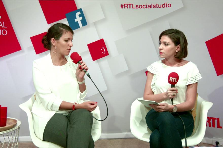 Marlène Schiappa, secrétaire d'État chargée de l'Égalité entre les femmes et les hommes, invitée du RTLsocialstudio, le 16 octobre 2017