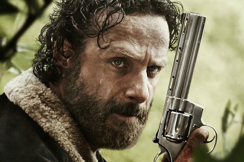 """Rick Grimes est l'un des héros de """"The Walking Dead"""""""