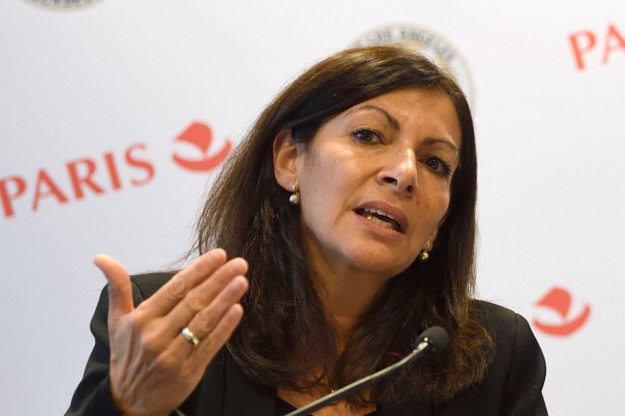 Anne Hidalgo, le 23 octobre 2017 à Paris