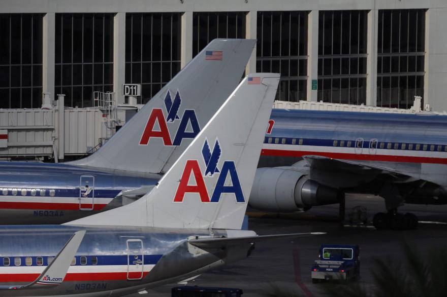 Des appareils de la compagnie aérienne American Airlines