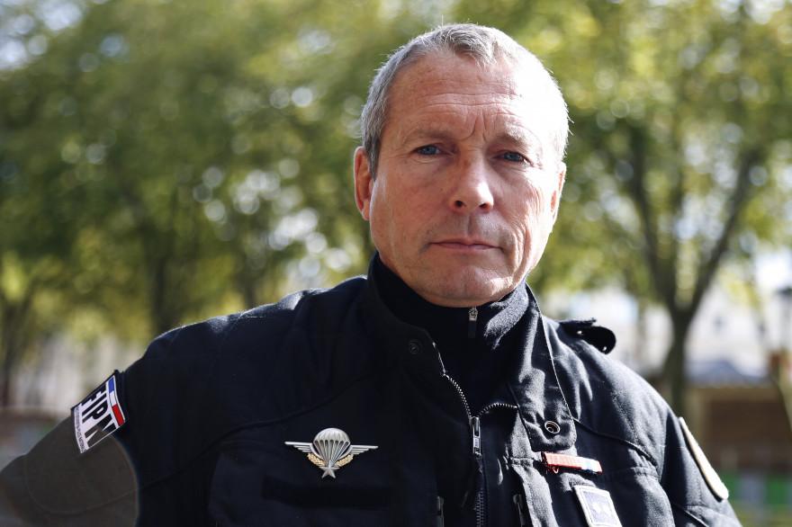 Jean-Michel Fauvergue, patron du RAID