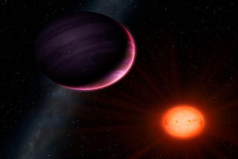 """Une planète """"monstre"""" découverte à 600 années-lumière de la Terre"""