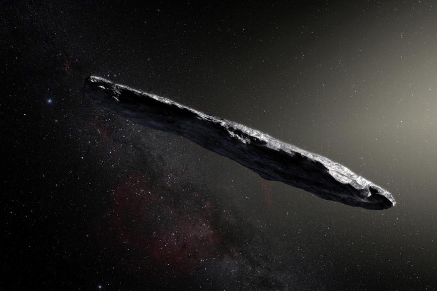 L'astéroïde Oumuamua provient d'un autre système solaire