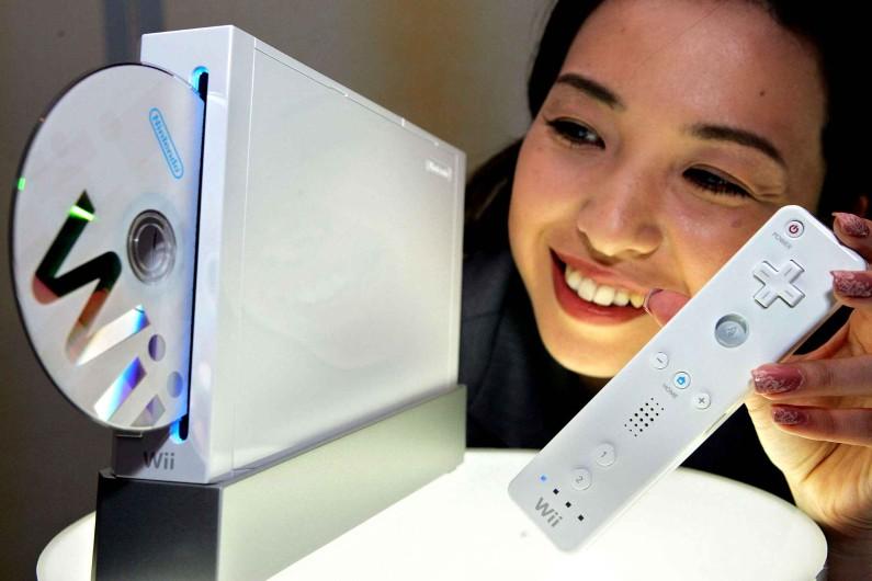 La console Wii de Nintendo
