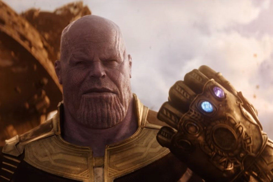 """Thanos dasn le trailer de """"Avenger: Infinity War"""""""
