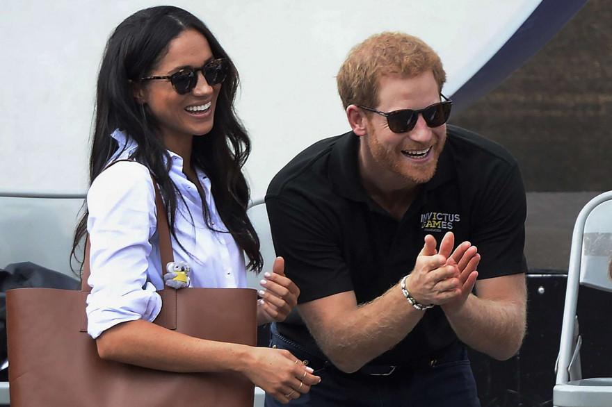 Meghan Markle et le prince Harry à Toronto en septembre 2017