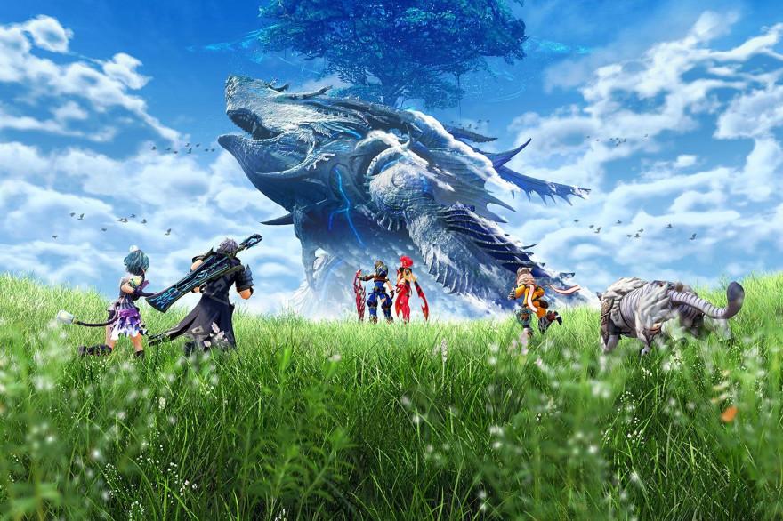 """""""Xenoblade Chronicles 2"""" propose un monde gigantesque"""