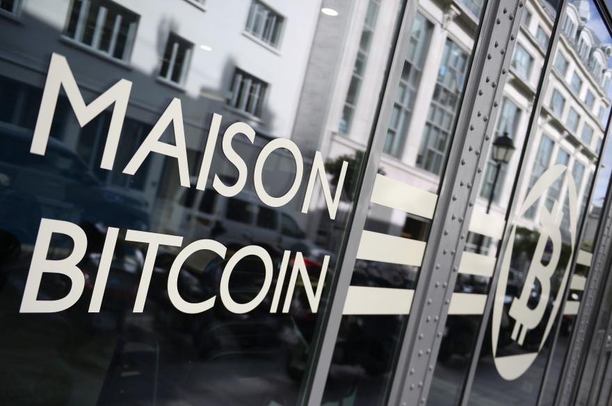 La Maison du bitcoin à Paris, le 20 juin 2014