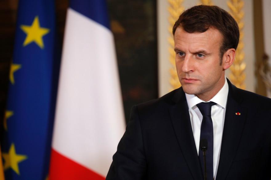 Emmanuel Macron, le 22 novembre 2017 à l'Élysée