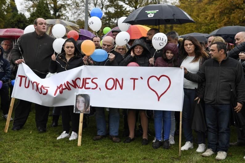 Marche blanche organisée le 5 novembre dernier en hommage à Maëlys
