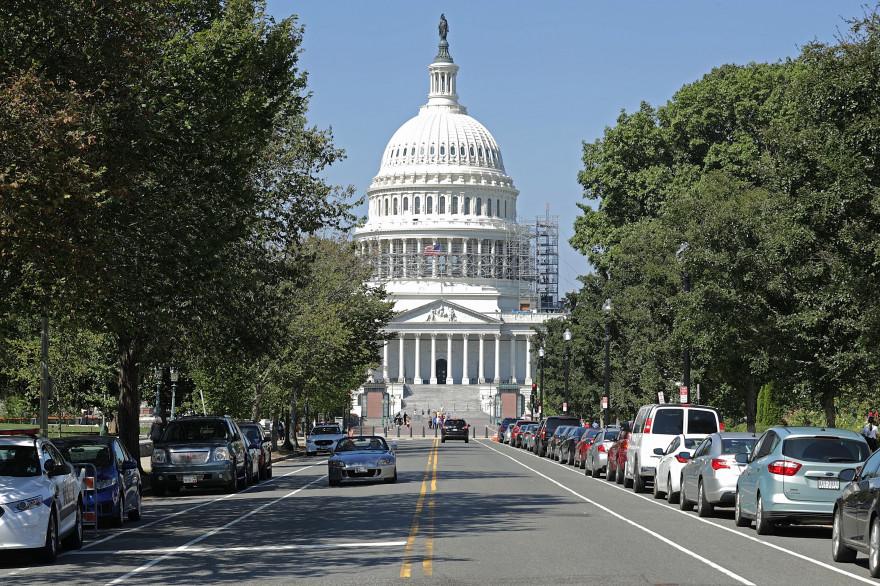 Le Congrès américain à Washington (Illustration)