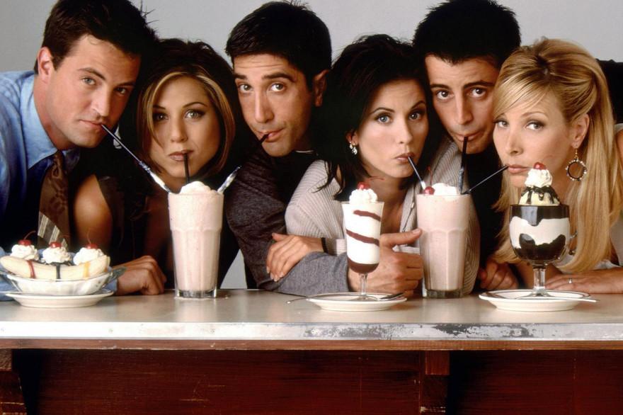 """Les acteurs principaux de la série """"Friends"""""""