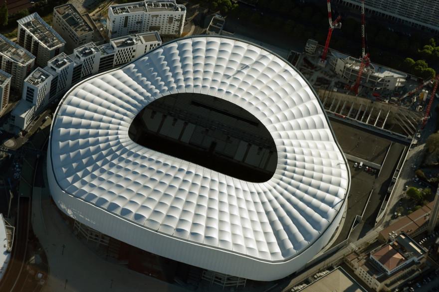 Le Stade Vélodrome de Marseille, antre de l'OM.