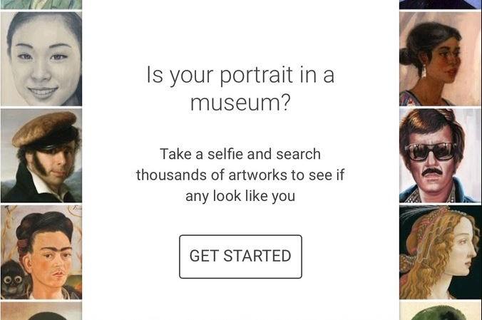 L'application Google Arts & Culture est en tête des téléchargements aux États-Unis grâce à son outil de reconnaissance faciale