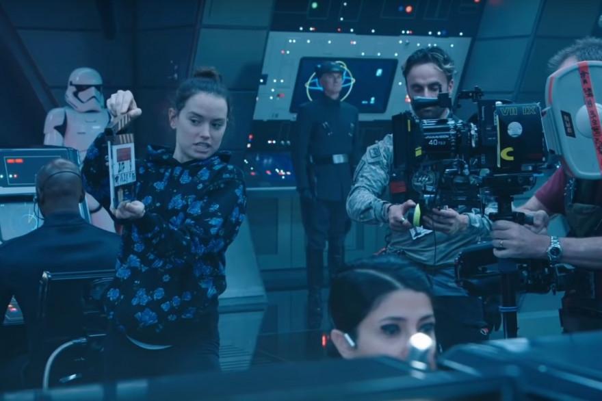 """Daisy Ridley sur le tournage de """"L'Ascension de Skywalker"""""""