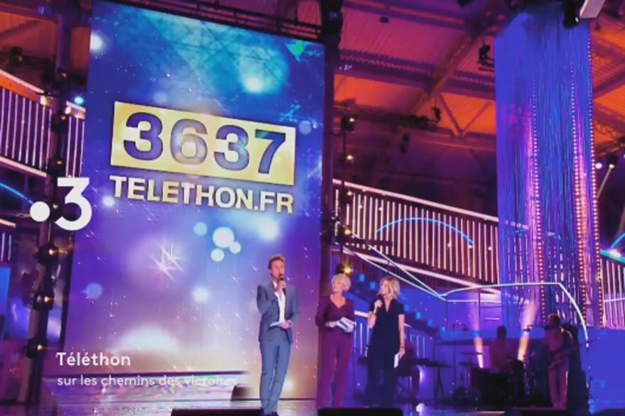 Le Téléthon 2018 est diffusé ce soir à partir de21 heures sur France 3