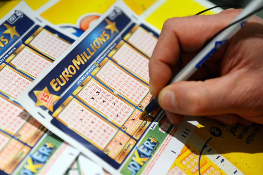 Un ticket d'Euromillions