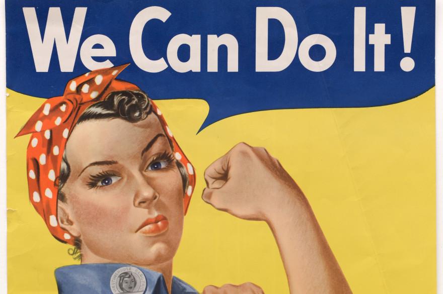 """""""Rosie the Riveter"""", symbole des luttes féministes"""