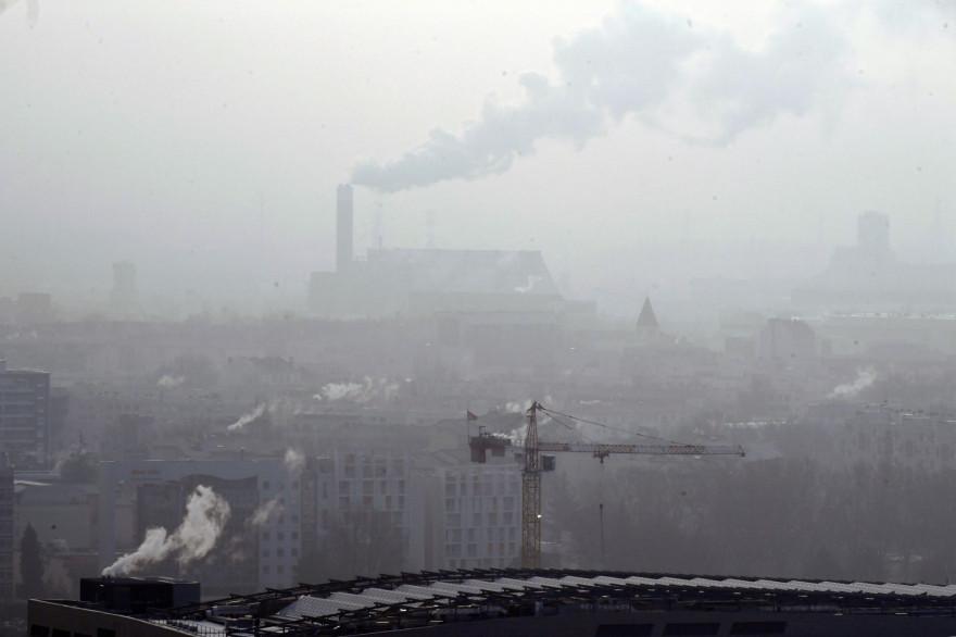 De la pollution au-dessus de Lyon, le 24 janvier 2017