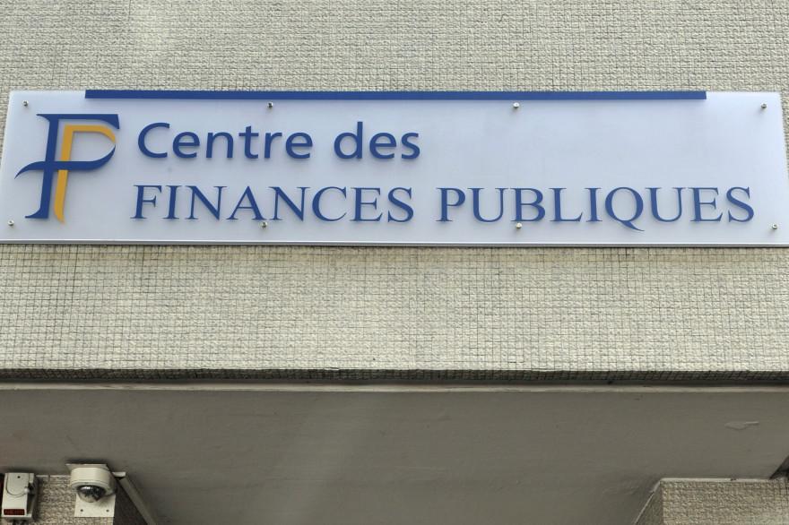 Une entrée d'un centre des Finances publiques