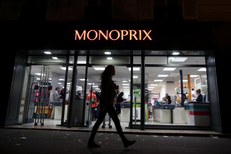 Un supermarché Monoprix (illustration)