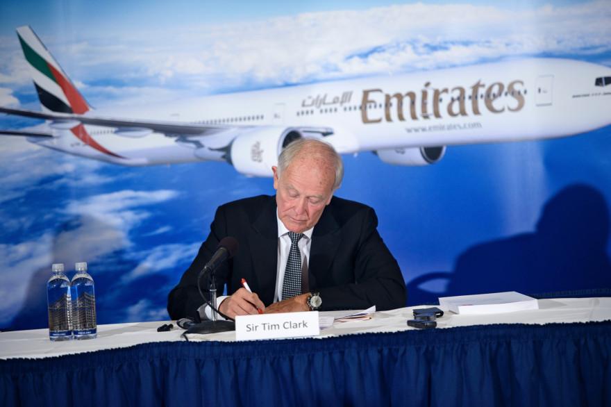 Tim Clark, président de la compagnie aérienne Emirates.