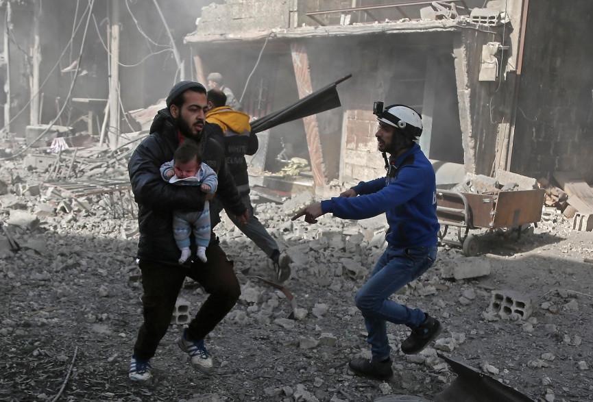 Syrie : depuis début février, environ 450 civils sont morts dans cette zone rebelle située aux portes de Damas