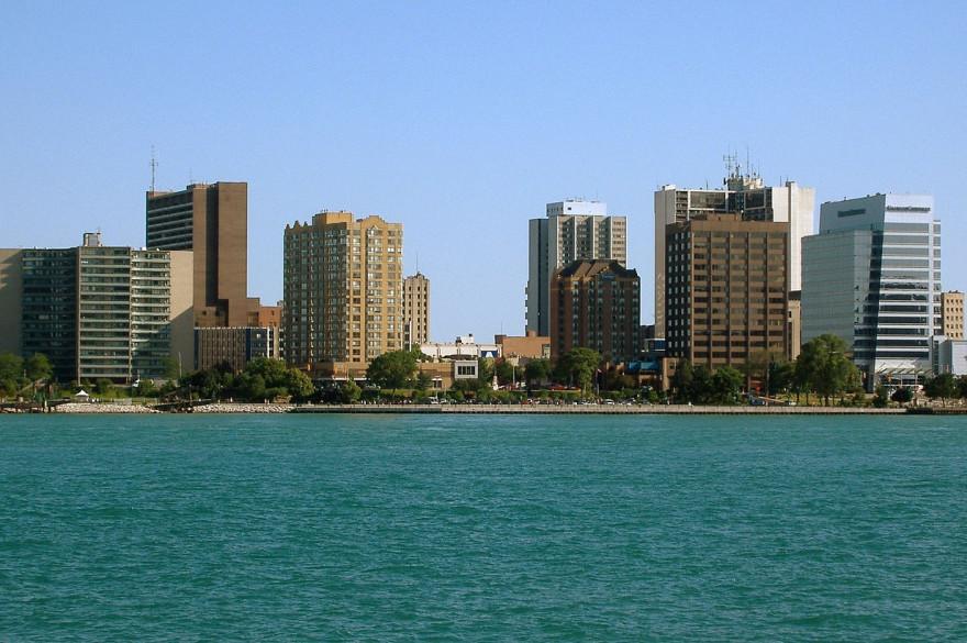 La ville de Windsor au Canada