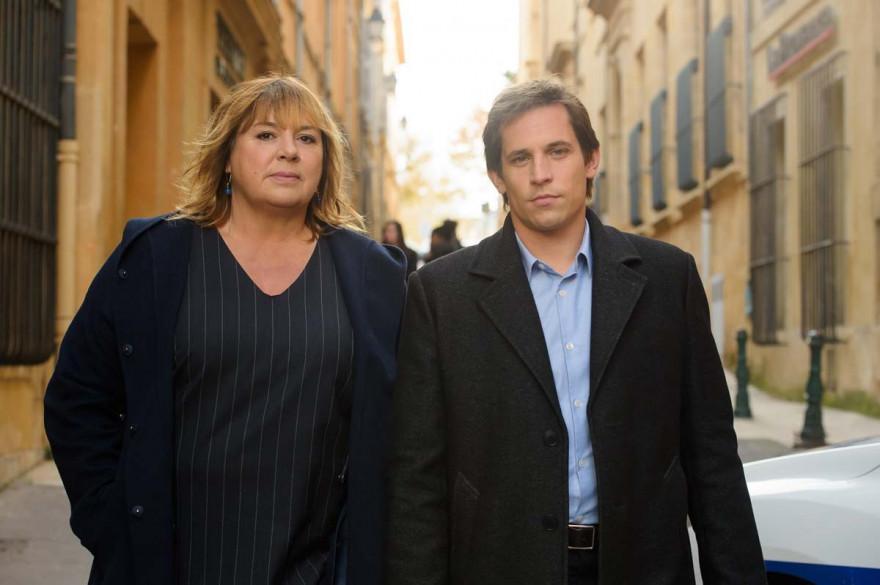 """Michèle Bernier et Antoine Hamel dans """"La Stagiaire"""""""