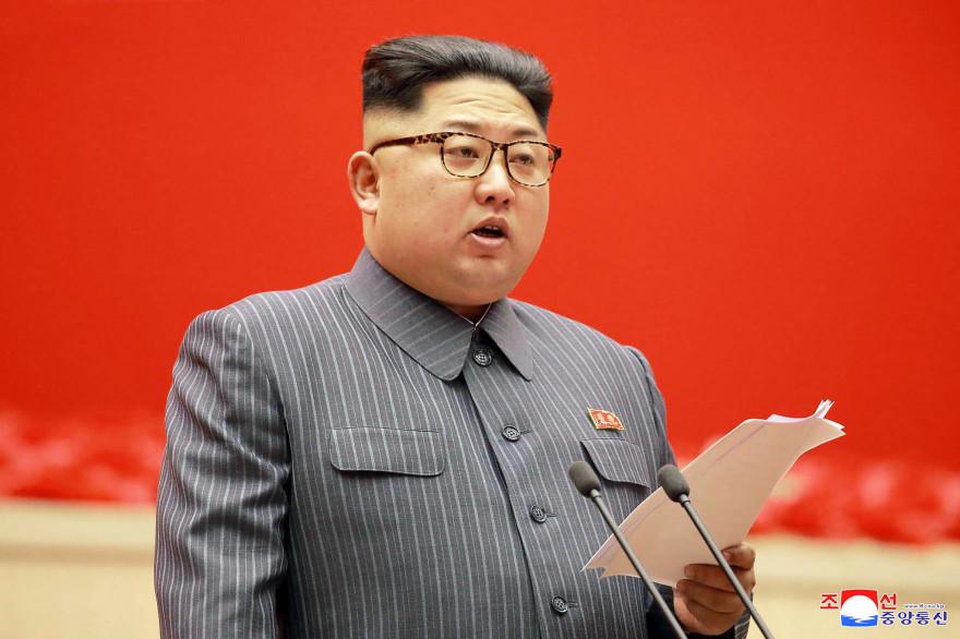 Kim Jong-un, l'actuel dirigeant suprême de la Corée du Nord