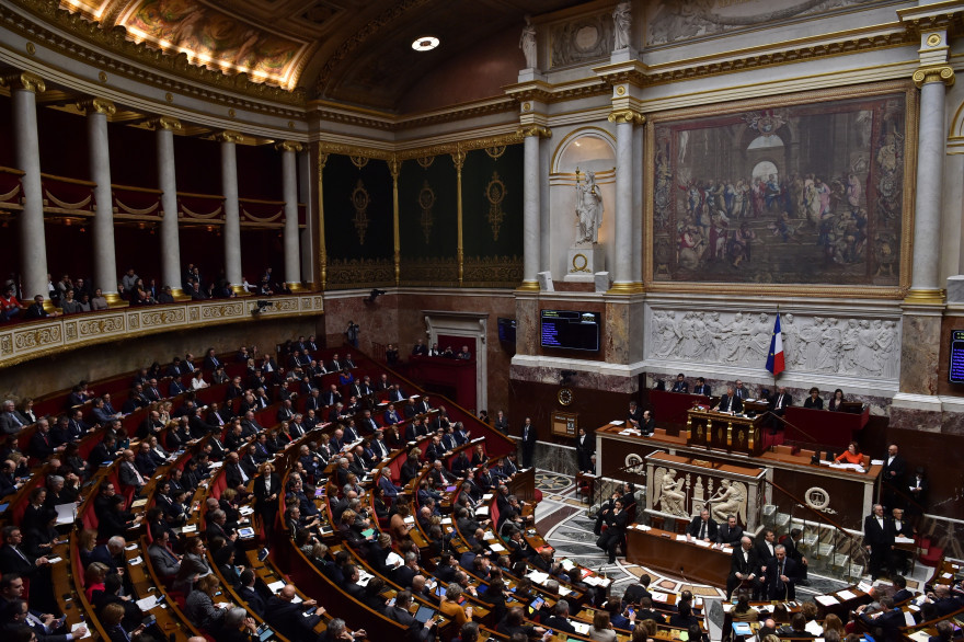 L'Assemblée nationale en pleine séance (photo d'illustration).