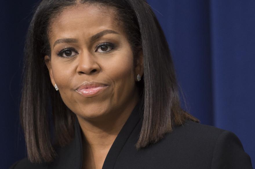 L'ex-First Lady Michelle Obama, le 15 décembre 2016