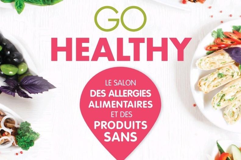 L'affiche du salon Go Healthy 2018