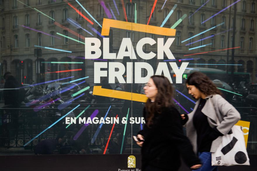 L'enseigne Fnac à Paris, qui propose le Black Friday