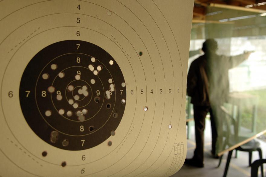 Le membre d'un club de tir en train de s'entraîner (photo d'illustration).