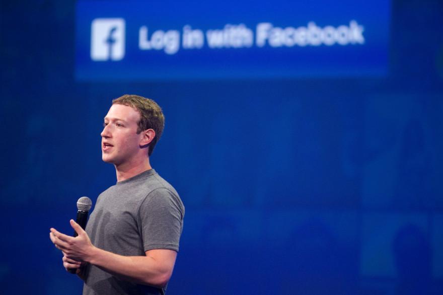 Le patron de Facebook, Mark Zuckerberg.