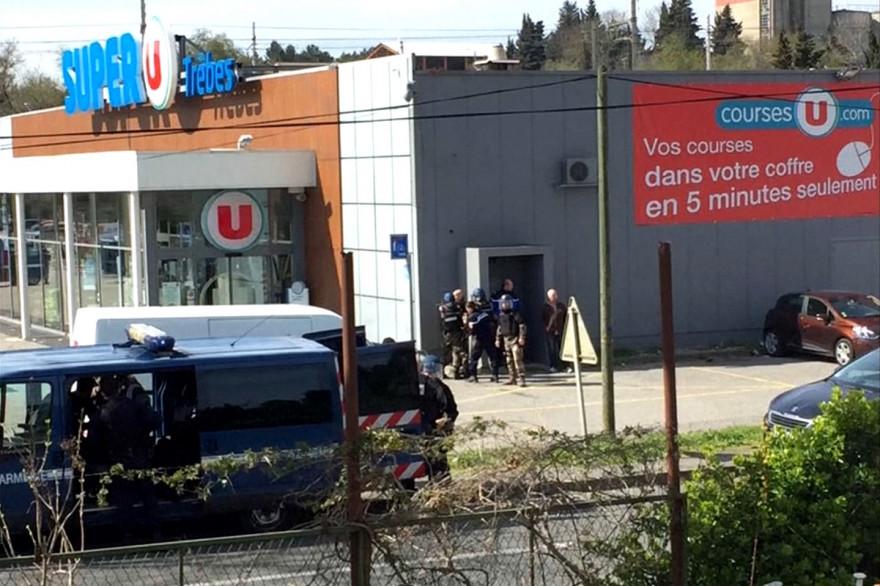 Prise d'otage dans un supermarché de Trèbes (Aude)