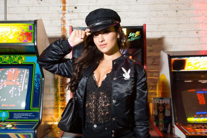 Nina Daniele, Playmate du mois d'avril 2017 et désormais Playmate de l'Année