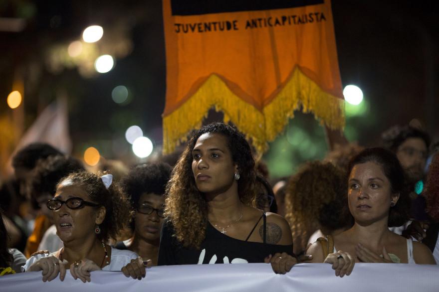Des manifestations ont eu lieu partout dans le monde après l'assassinat de Marielle Franco.