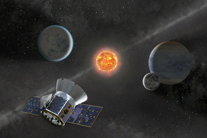 La télescope spatial TESS peut scanner une portion du ciel 350 fois plus vaste que son prédécesseur Kepler