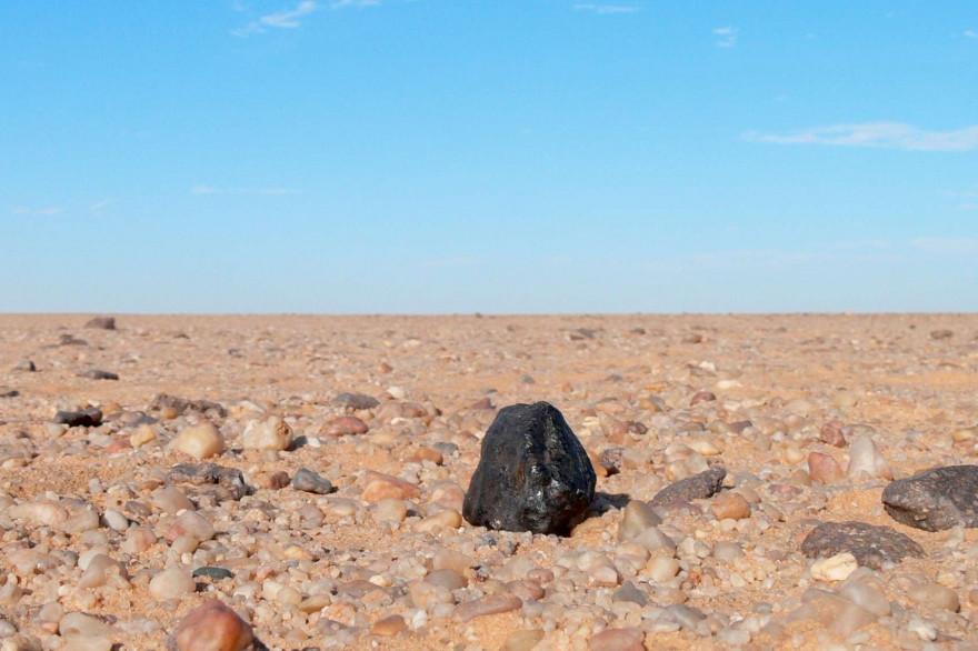 Un fragment de l'astéroïde qui s'est écrasée au Soudan en 2008