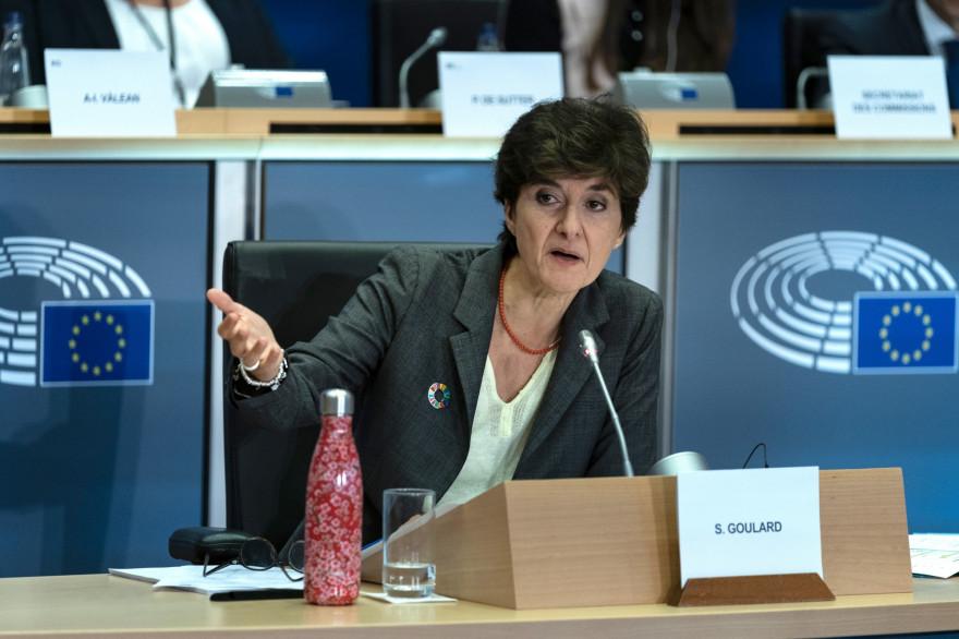 Sylvie Goulard au Parlement européen le 10 octobre 2019