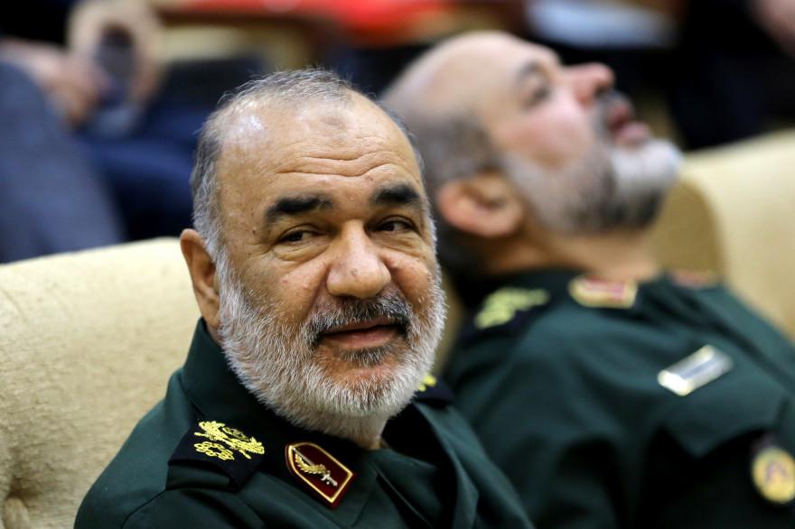 Le militaire iranien Hossein Salami, chef des Gardiens de la Révolution.