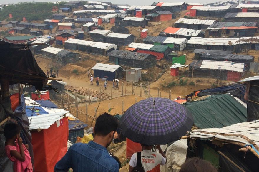 Quelque 900.000 musulmans rohingyas de Birmanie ont trouvé refuge au sud du Bangladesh, où ils survivent des conditions déplorables