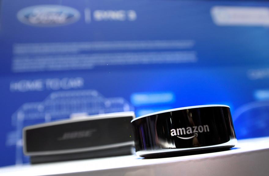 L'enceinte connectée Echo d'Amazon