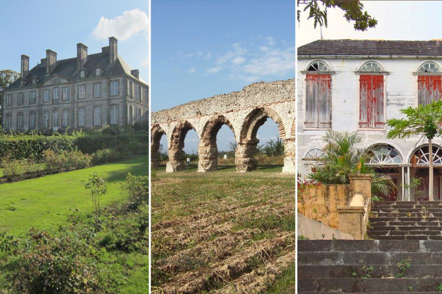 Le château de Carneville, l'aqueduc de Gier et le domaine de Maison Rouge font partie des monuments sélectionnés pour être rénovés en priorité.