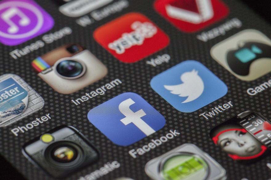 Les réseaux sociaux (illustration)